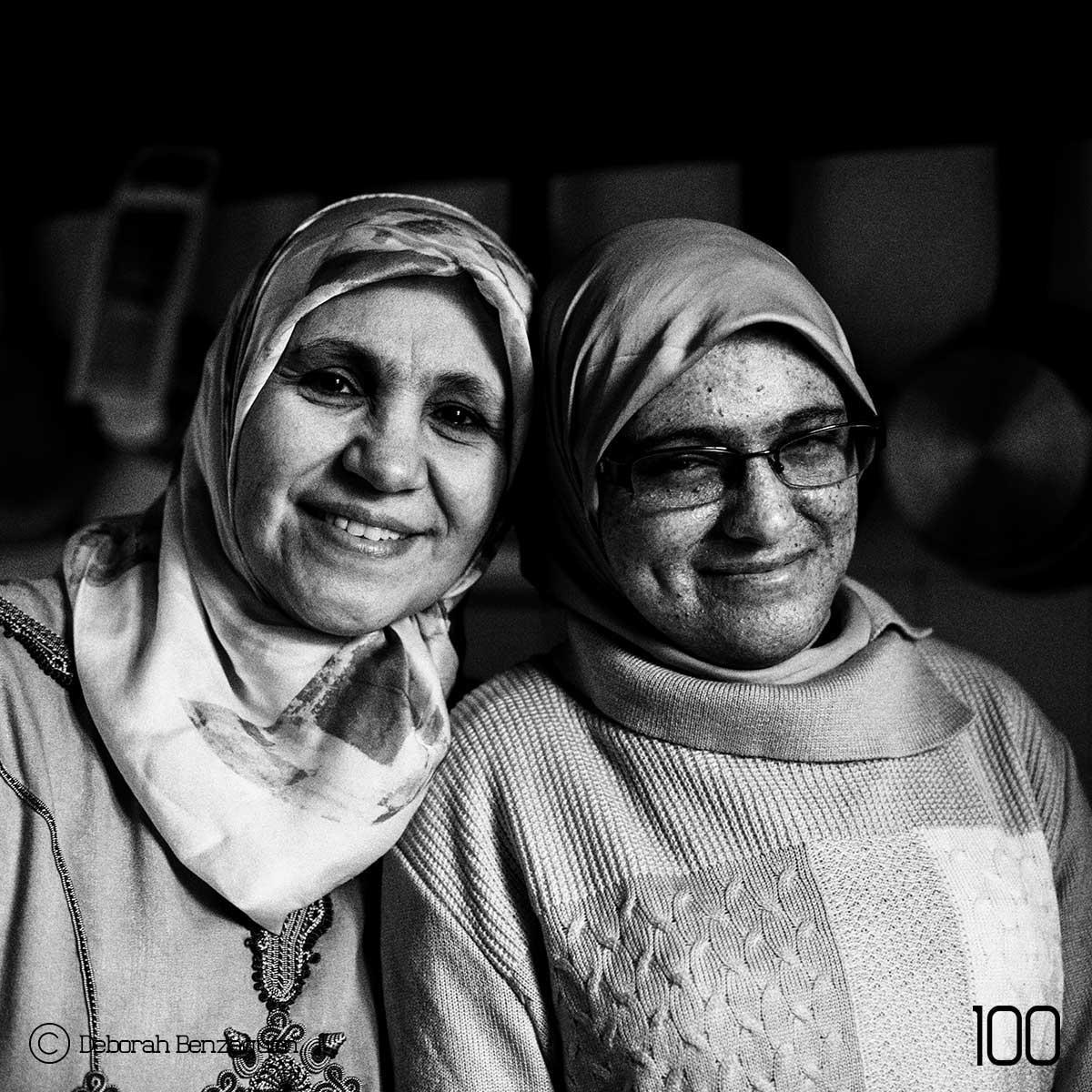 Nouzha CHKOUNDI & her daughter